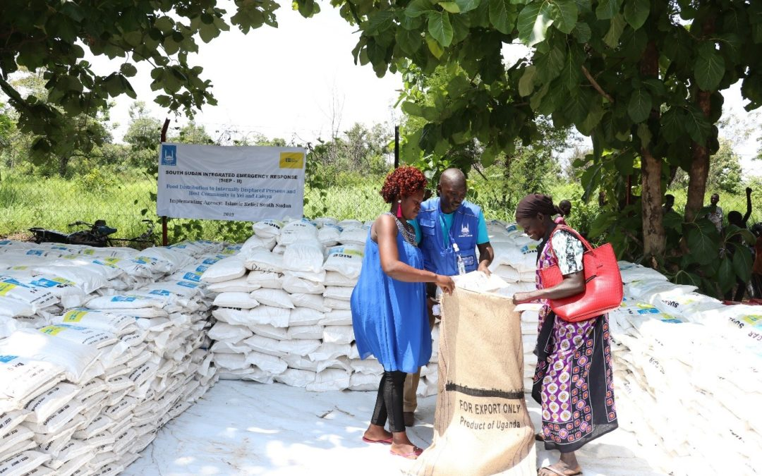 Reducing the Effect of Conflict; Islamic Relief Delivered Emergency Food Aid to Yei and Lianya